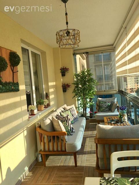 Havasını Soluyana Keyif Veren Bir Balkon