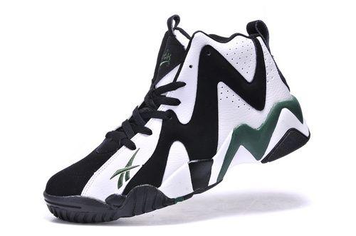 f29b962f827c Reebok Basketball Shoes A Men Reebok Kamikaze II MID V44404 Classics White  Black Green