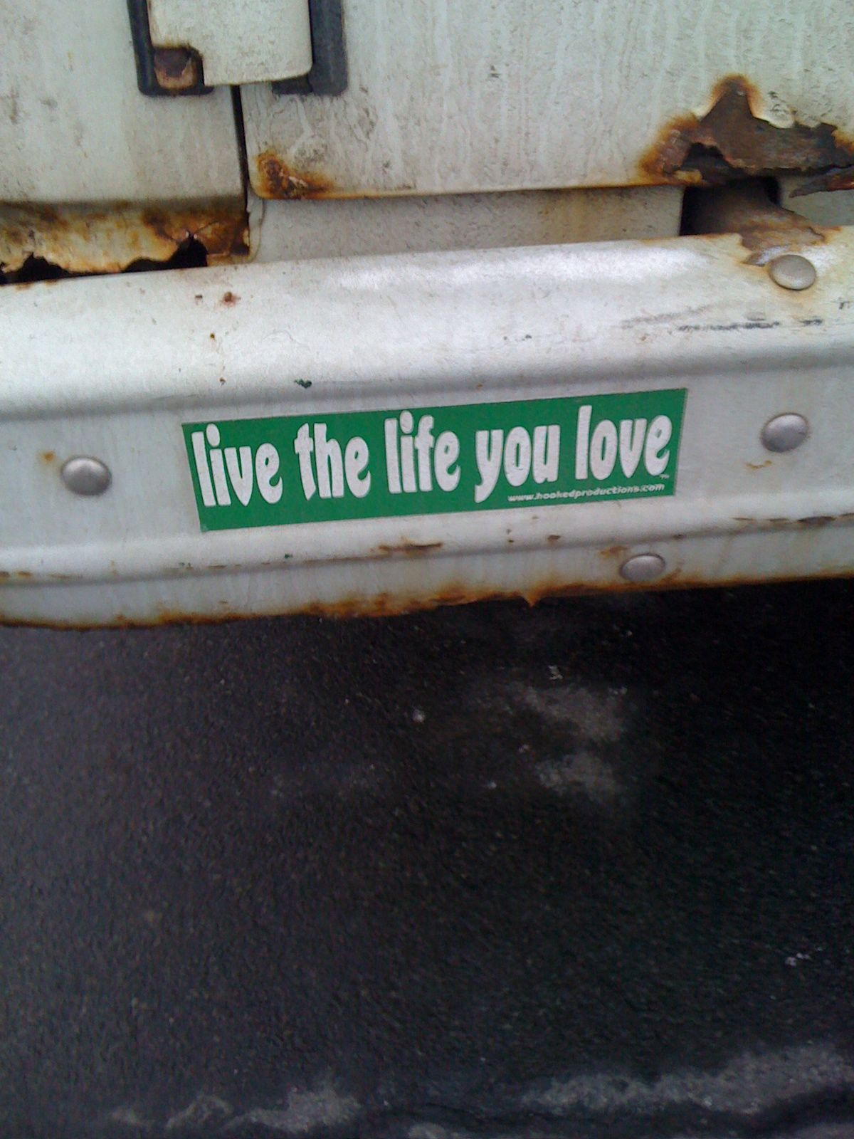 Live the life you love funny bumper stickers car stickers some inspirational quotes