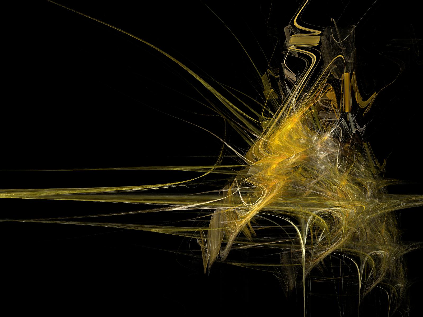 Black And Yellow Wallpaper Hd Wallpaper