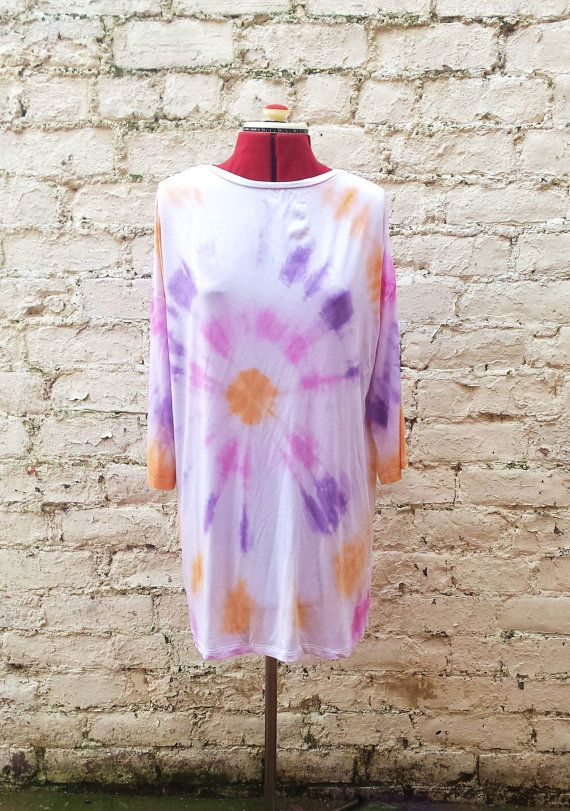 Check out this item in my Etsy shop https://www.etsy.com/listing/209891576/tunic-dress-long-sleeved-tie-dye-purple