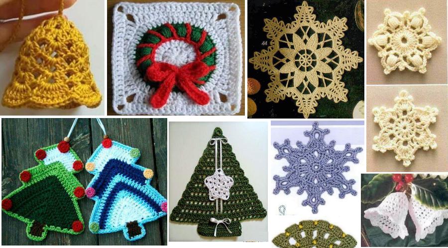 Se acerca la Navidad y buscamos decoraciones para hacer al crochet ...