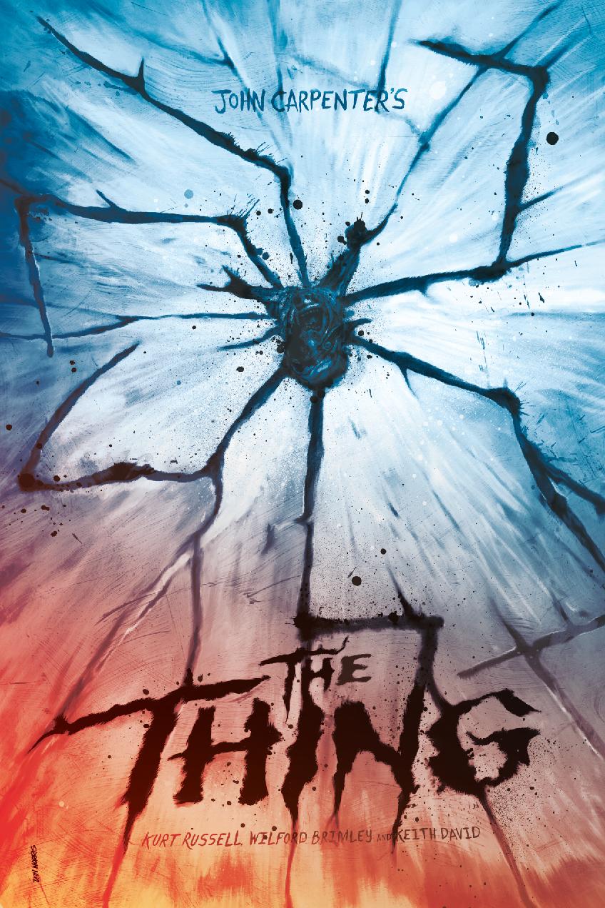 The Thing 1982 848 X 1272 Movie Poster Art Horror Movie Art Poster Art