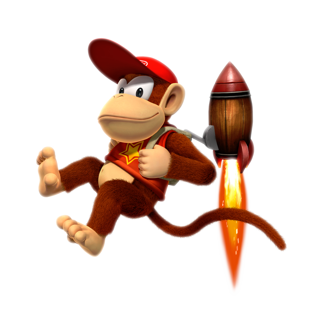 Donkey Kong Country Returns 3d Review The Wild Side Polygon Diddy Kong Donkey Kong Country Donkey Kong