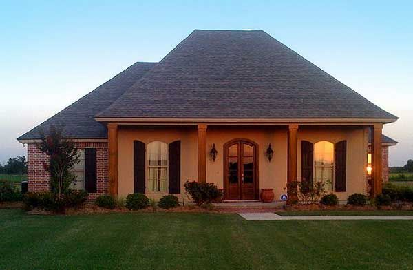 Plan 56349sm southern home plan with open layout for Cajun style house plans