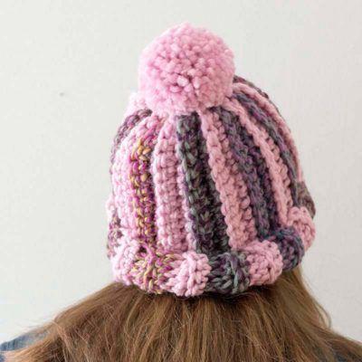 Emily Diagonal Free Beanie Crochet Pattern Crochet Beanie Hat