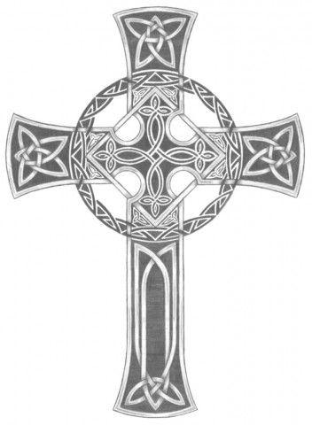 кельтский крест кельтские узоры дизайны татуировок с