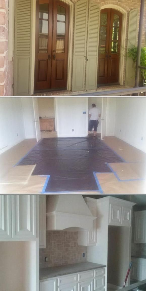 This company's interior and exterior painting services are