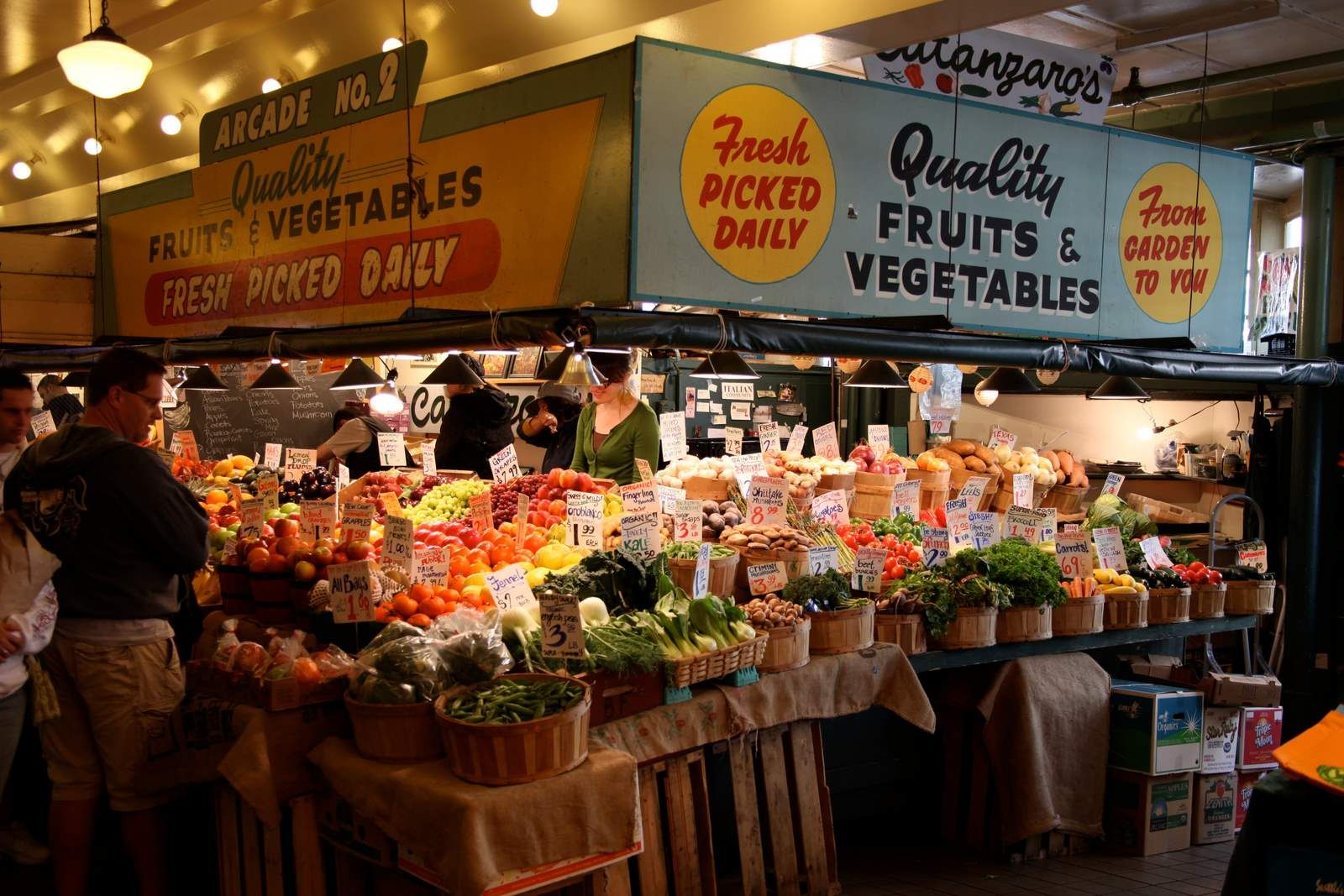 Inspiration is drawn from famous food markets around the ...