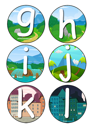 Bulletin Board Letters Phonics Game Letters Free Printable