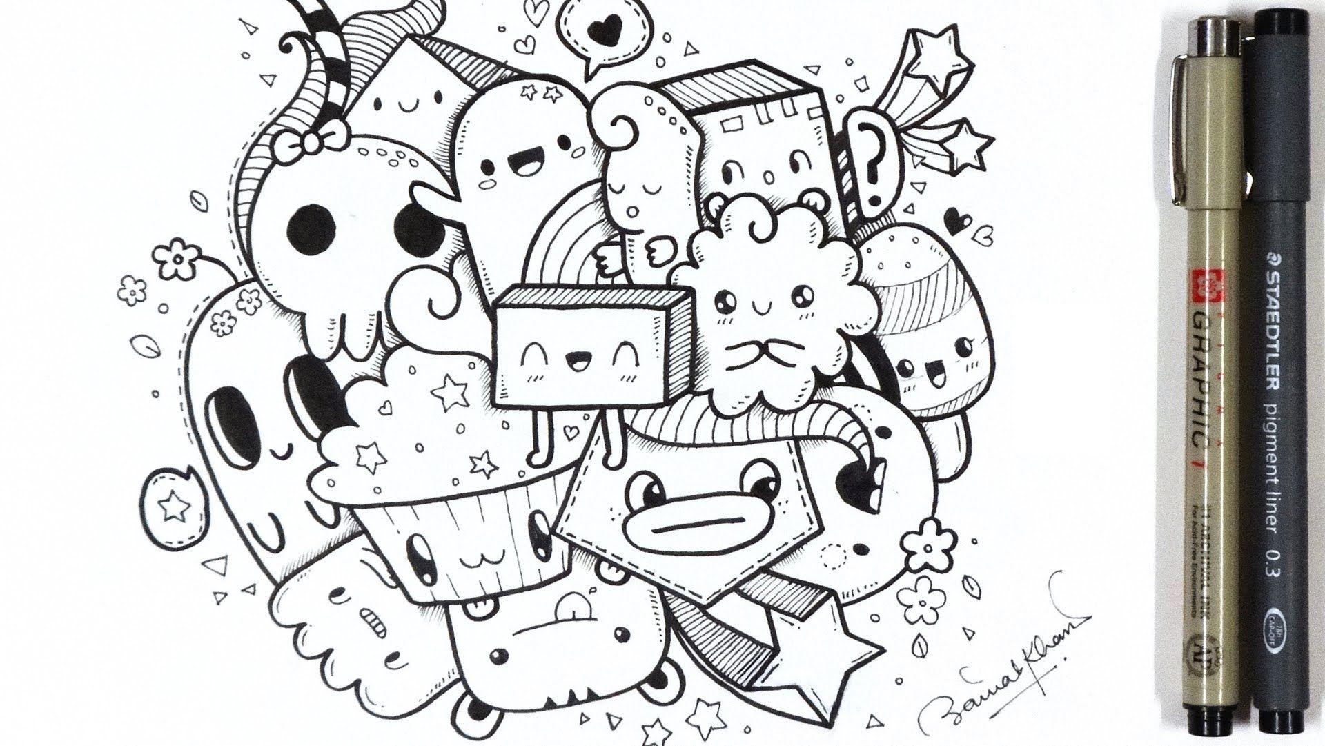A Quick Kawaii Doodle Www Youtube Com Piccandle Com Imagens