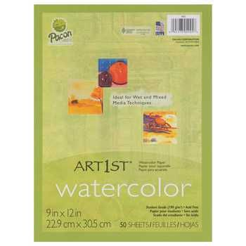 Pacon 9 X 12 White Watercolor Paper Watercolor Paper Art
