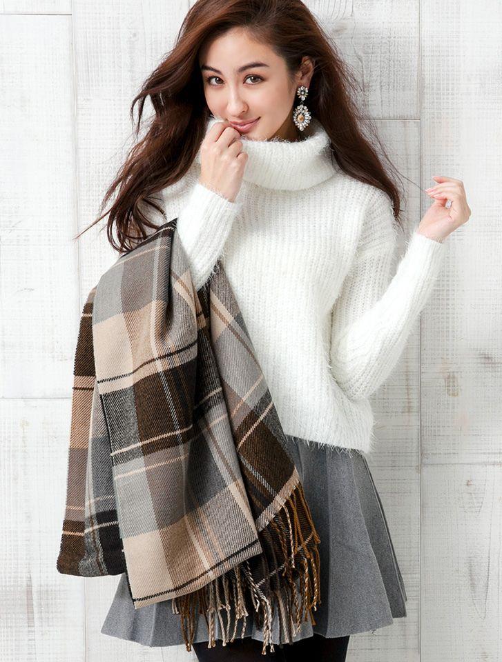 寒い冬はふわふわあったかく♡ゆるふわタイプのファッションアイデア☆参考にしたいふんわりコーデスタイル♪