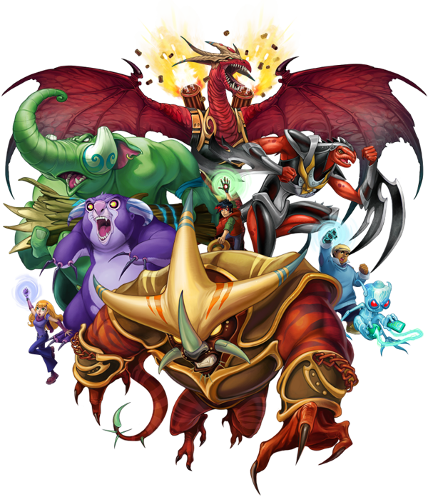 Rise To Power Monstrosity: Kaijudo: Rise Of The Duel Masters By Eva Widermann, Via