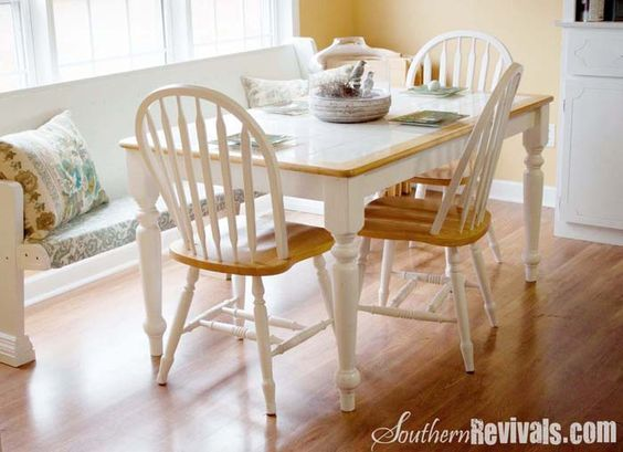Tile Top Table Makeover Tile Top Tables Dining Room Table Tile