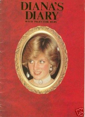 Diana\u0027s Diary UK publication - charts Diana\u0027s daily life in a