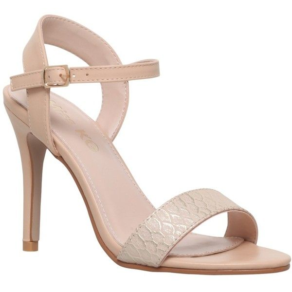 Miss KG Imogen 2 High Stiletto Heeled Sandals , Nude ($45) ❤ liked on