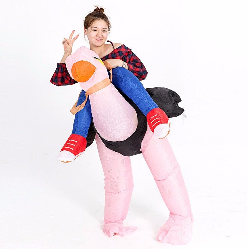 Click to Buy << Adult Inflatable Ostrich Costume for Men Women ...