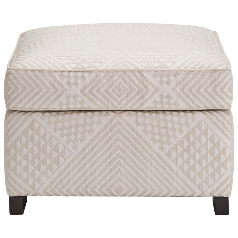 Stupendous Donghia Woodbridge Ottoman In Cream Cotton Upholstery With Cjindustries Chair Design For Home Cjindustriesco