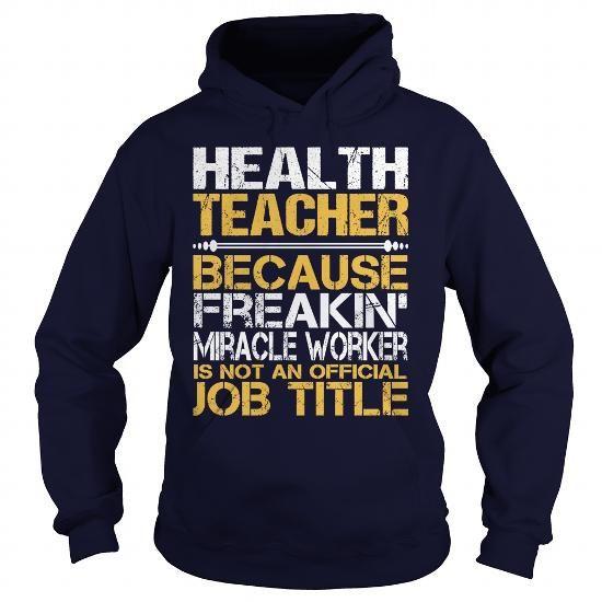 Awesome Tee Health Teacher T Shirts, Hoodie
