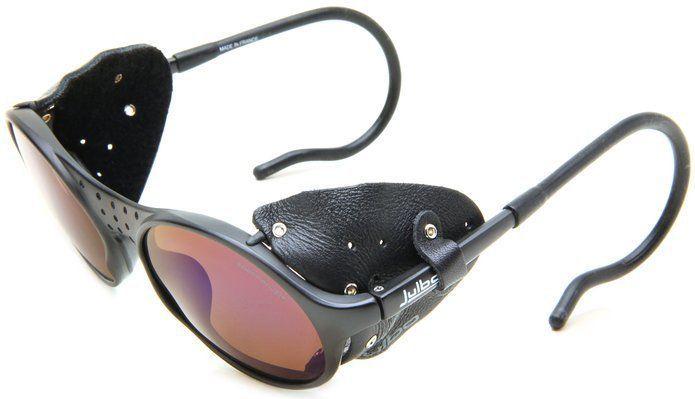 d7bbb2c8759b3 Glacier Sunglasses Mountaineering Julbo Sherpa Hiking Leather Side Shields