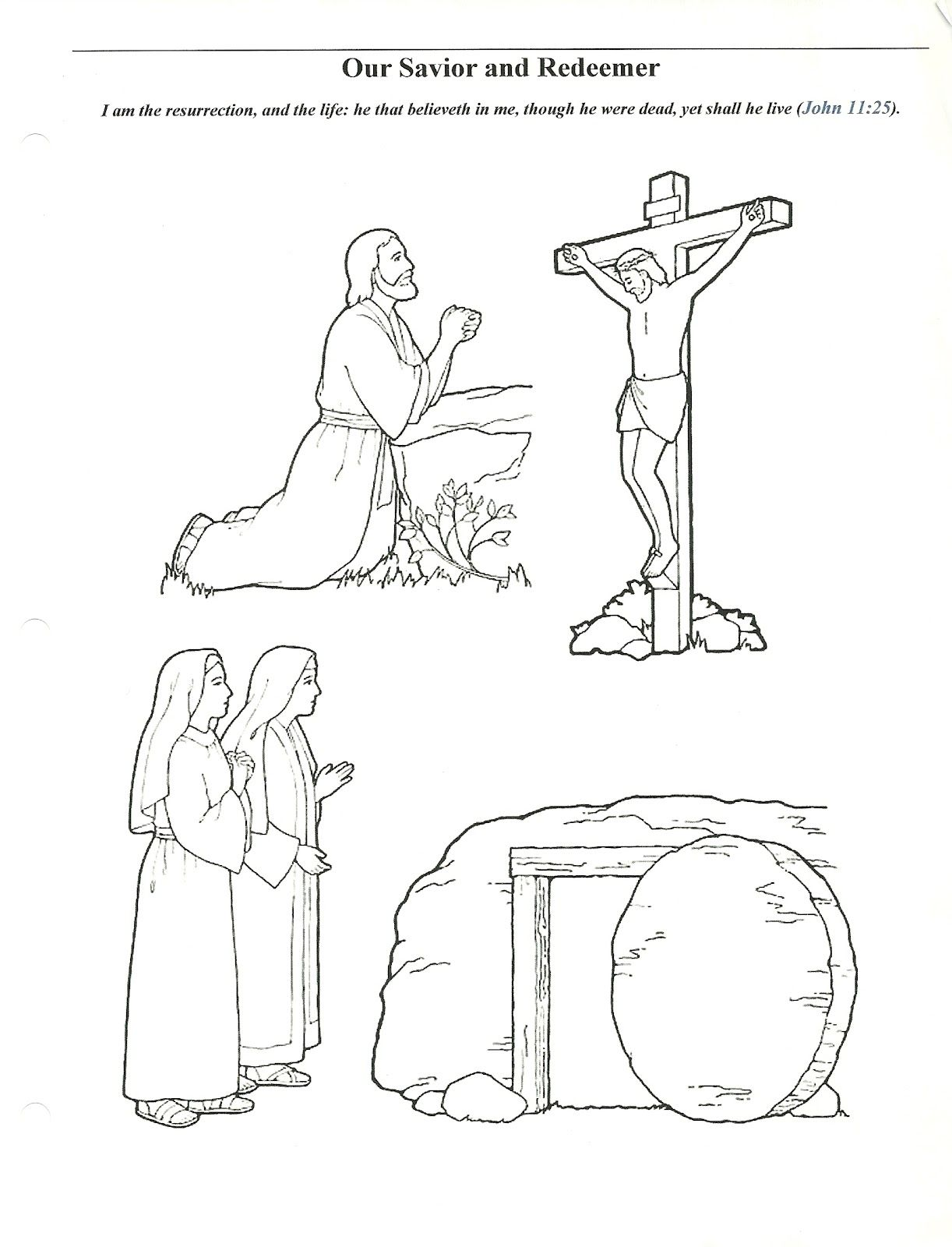 Primary 2 Manual Lesson 45 Easter We Celebrate Easter