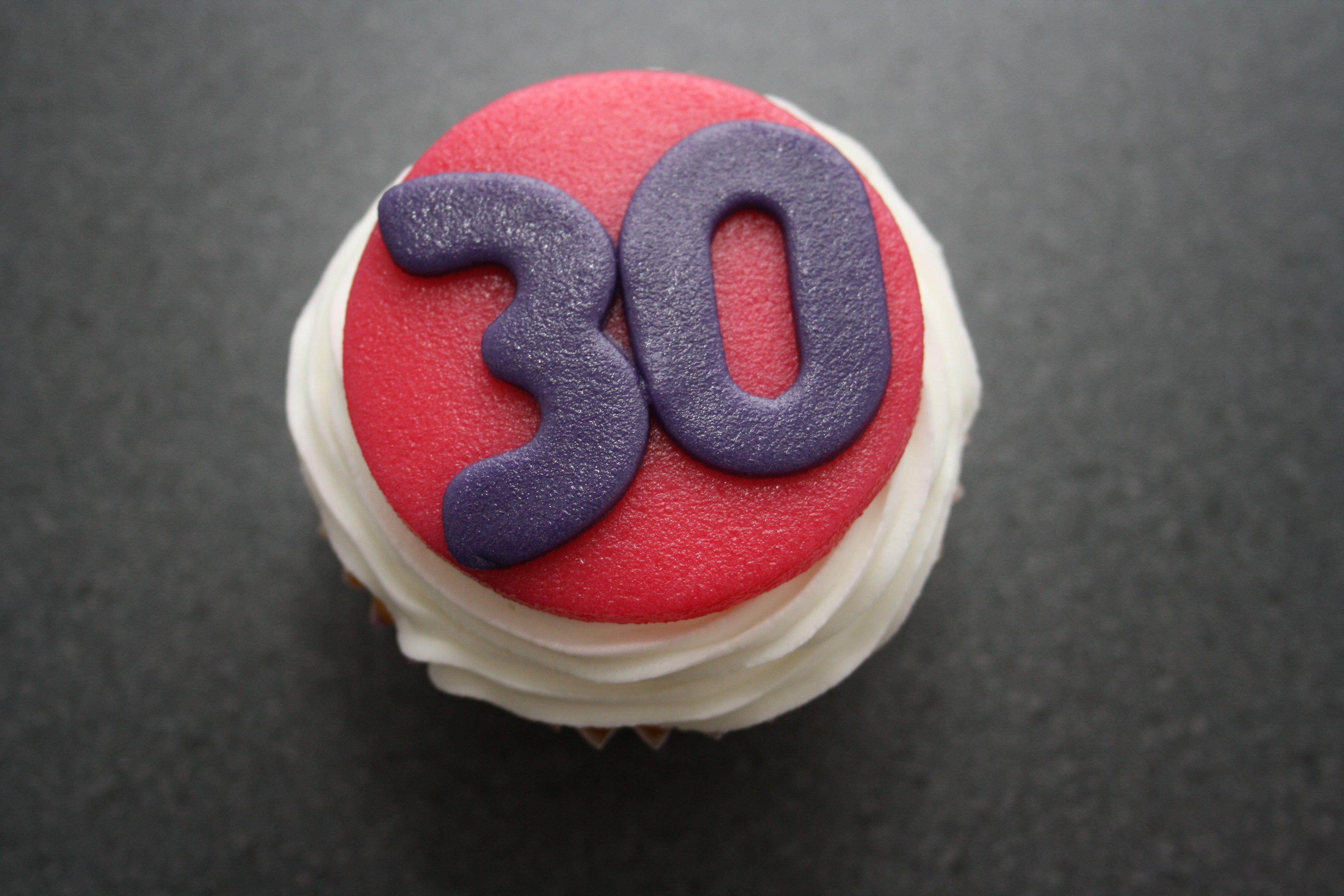 Birthday cupcake variety 2