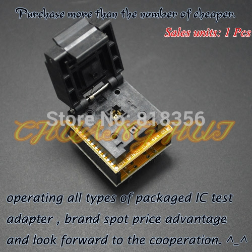 73.00$  Watch here - http://ali86l.worldwells.pw/go.php?t=32314434619 - IC TEST QFN20 to DIP20 Programmer Adapter DFN20 MLF20 WSON20 test socket Pitch=0.5mm Size=4mm*4mm 73.00$