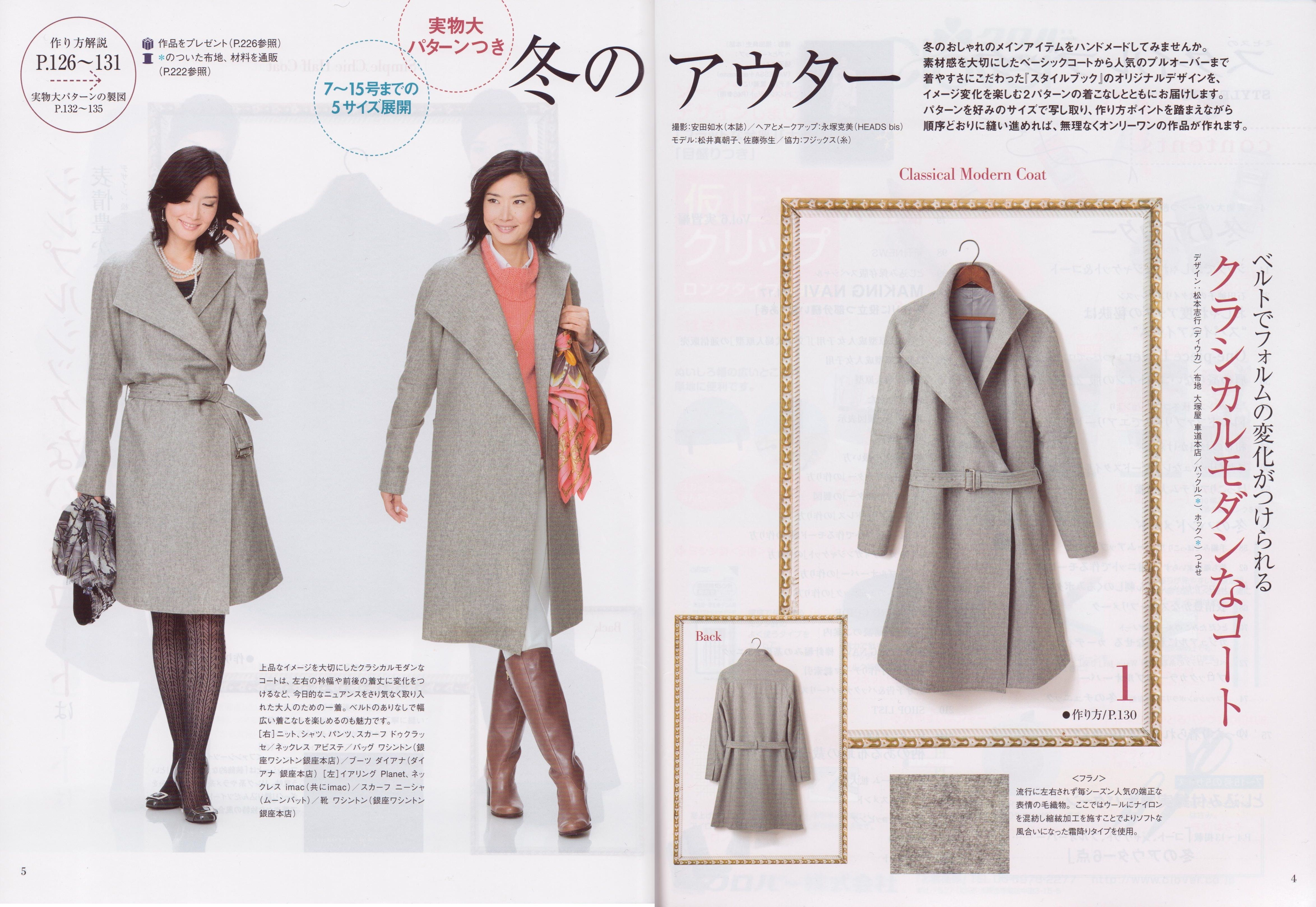 How to sew a coat