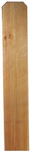 Sierra Pacific 1 X 6 X 8 Dog Eared Cedar Fence Picket At Menards Cedar Fence Pickets Cedar Fence Fence Pickets