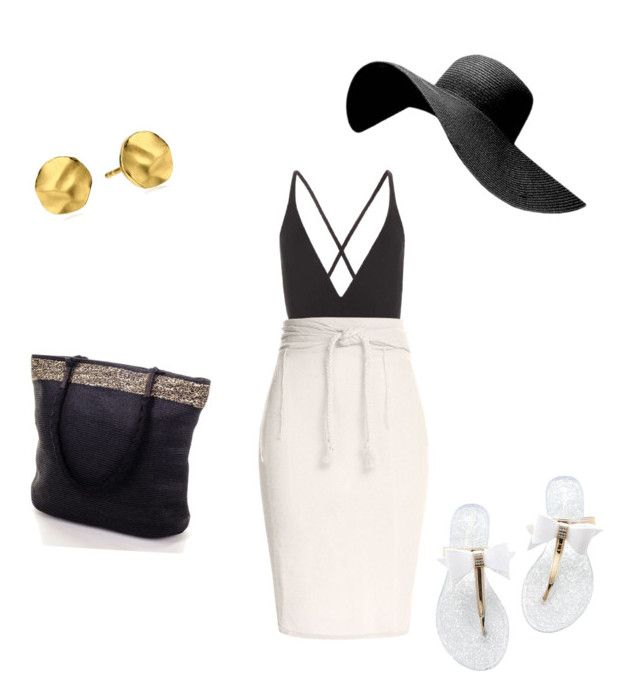 """""""Time For A Trip to the Beach!"""" by natashala-campbell on Polyvore featuring Proenza Schouler, Caravana and Gorjana"""