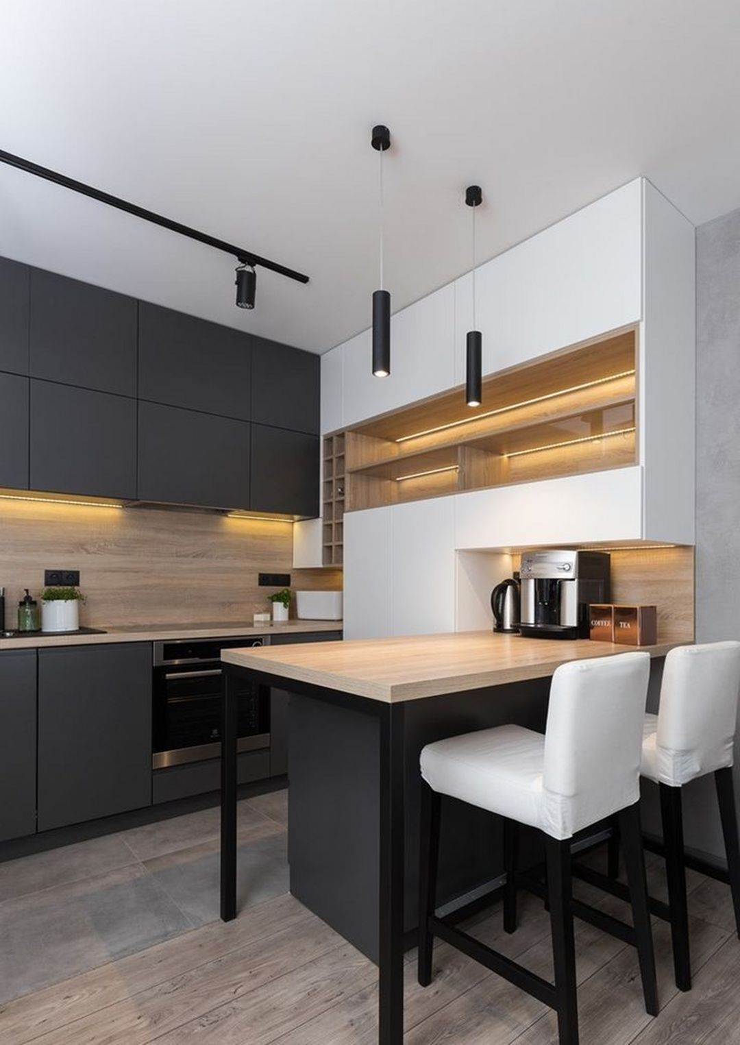 20 Magnificient Kitchen Design Ideas That You Can Try On Your Dream Home In 2020 Simple Kitchen Design Kitchen Remodel Small Modern Kitchen Interiors