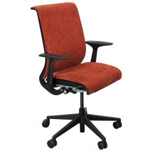 Steelcase Think Task Chair Red Line Pattern NOLstore Style in
