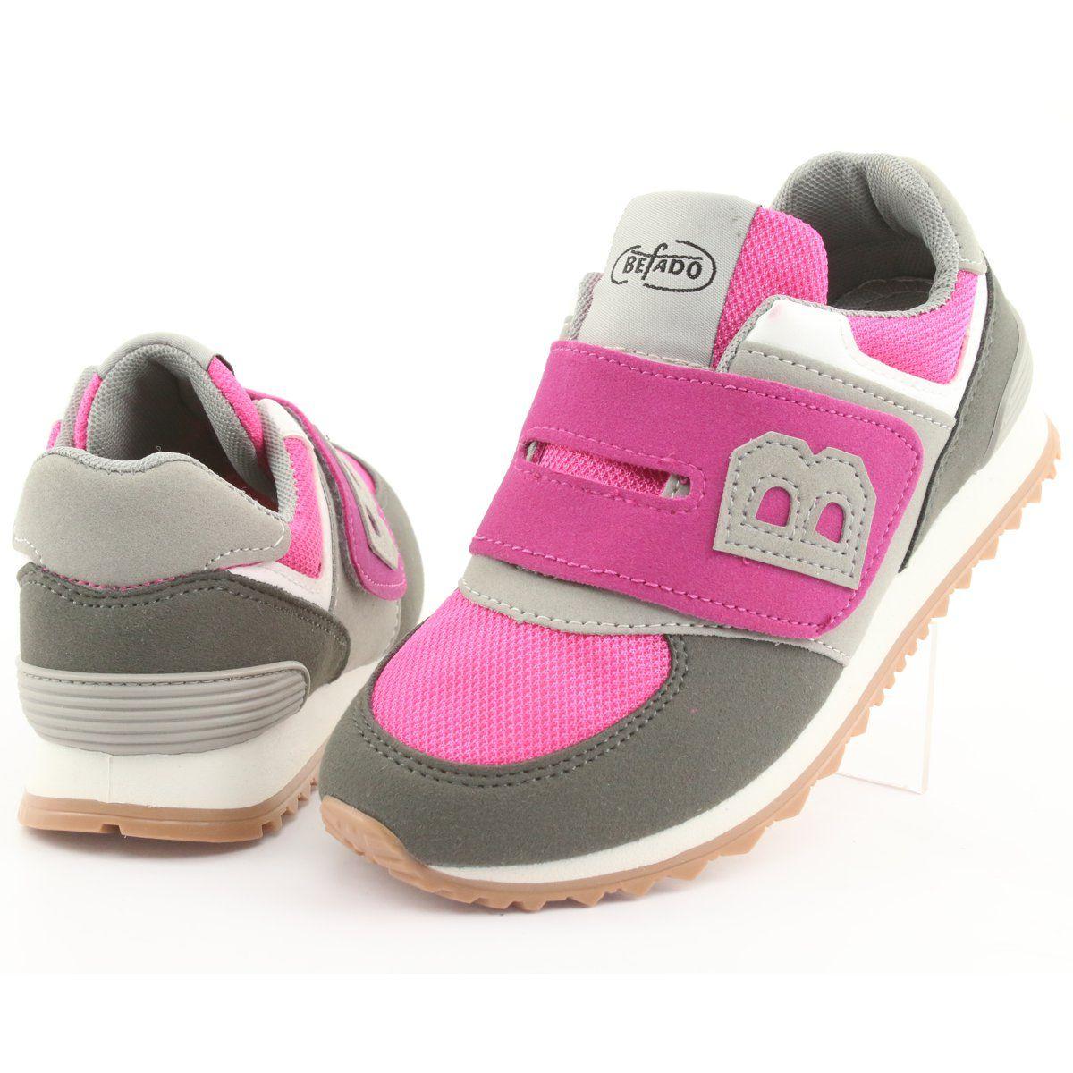 Befado Obuwie Dzieciece Do 23 Cm 516y039 Rozowe Szare Baby Shoes Shoes Fashion