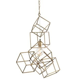 Check out the Arteriors 42048 Noel 1 Light Pendant in Antique Brass priced at $840.00 at Homeclick.com.
