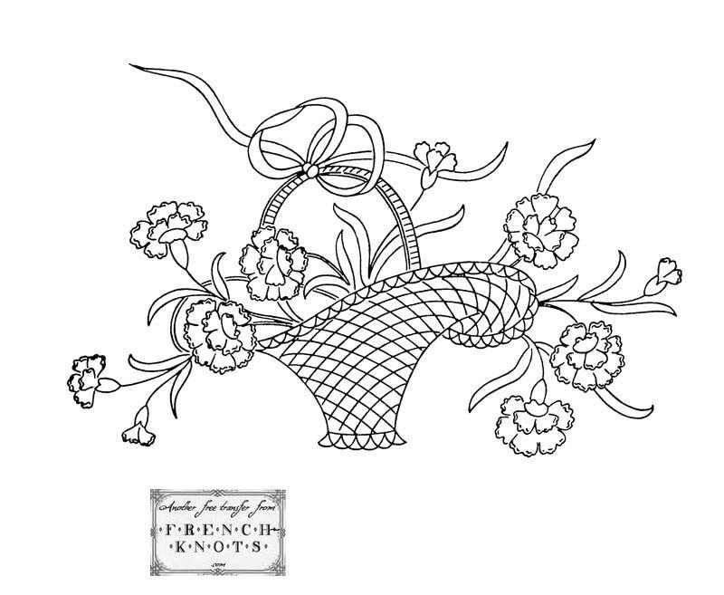 Flowers Nature Embroidery Patterns Needlework Pinterest