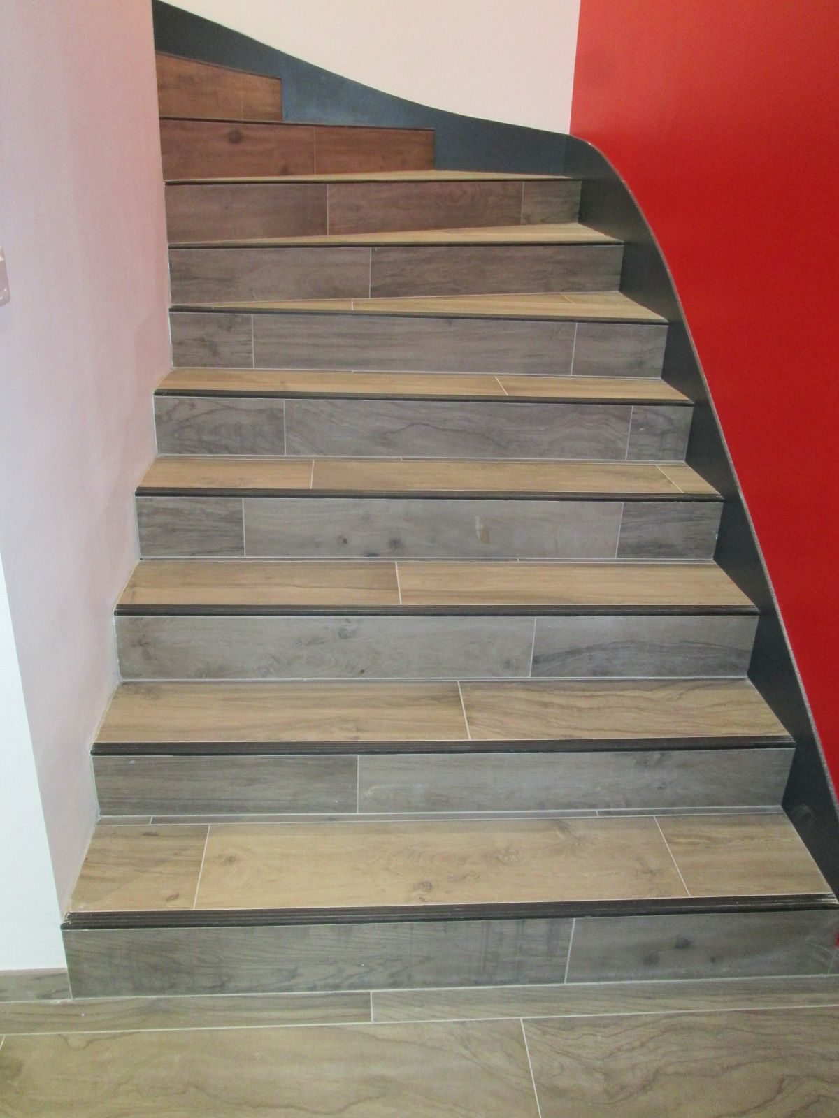Quart Tournant Carrelage Escalier Carrelage Escalier Carrele Revetement Escalier