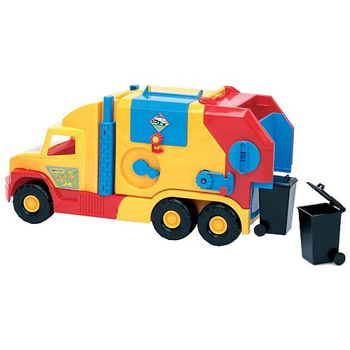 Tonka Rescue Force Garbage Truck Dump Truck With Flashing Lights and Multiple Sounds!