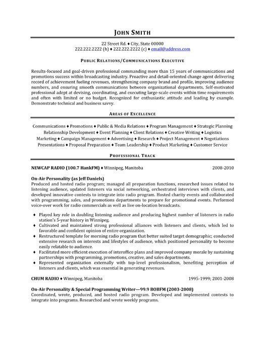 Communications Resume Template Alluring Click Here To Download This Public Relations Representative Resume .