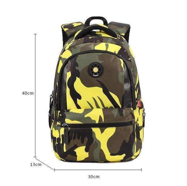 951ee935ff0f Small Size Fashion Camouflage Kid Backpack Bag School Bags Travel Backpack  Bags For Cool Boy And Girl