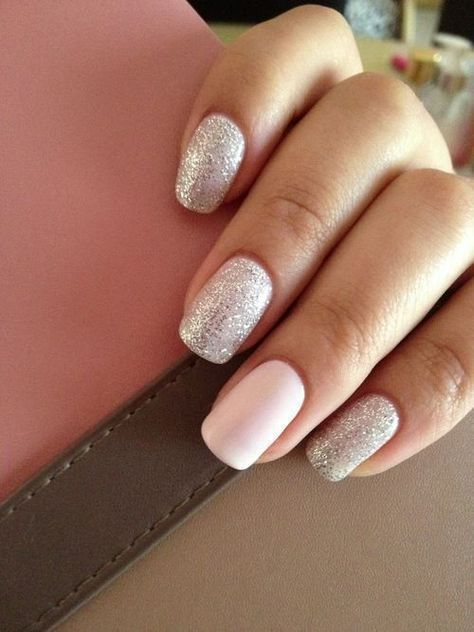 Glitter Nail Designs are always an excellent choice for the winter season especially for
