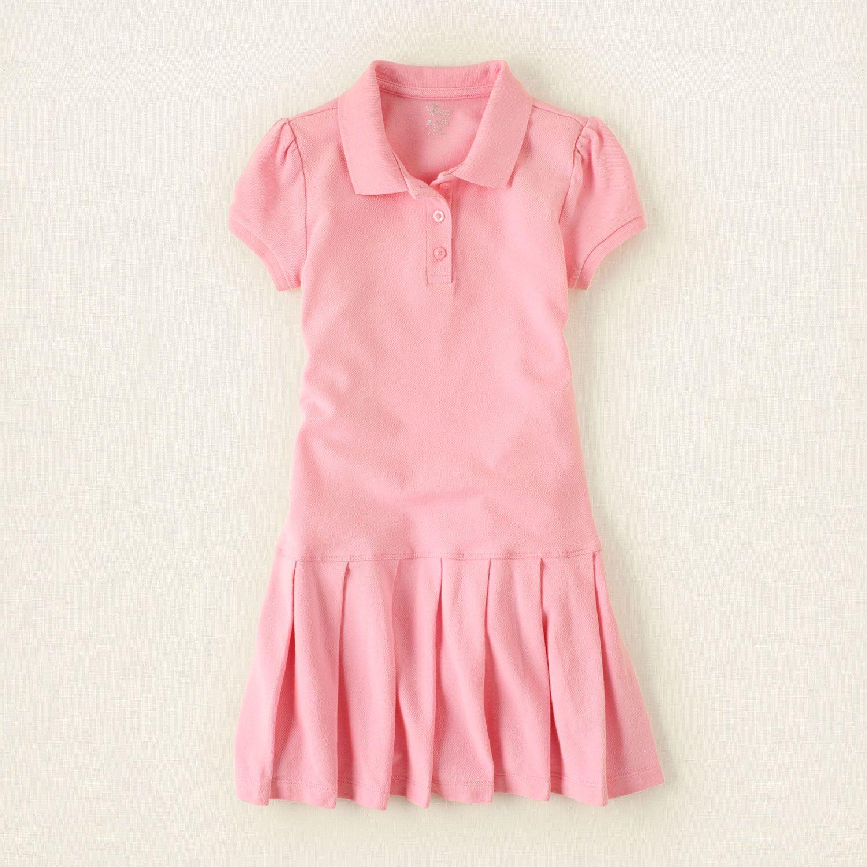 girl uniform polo dress Children s Clothing Kids Clothes