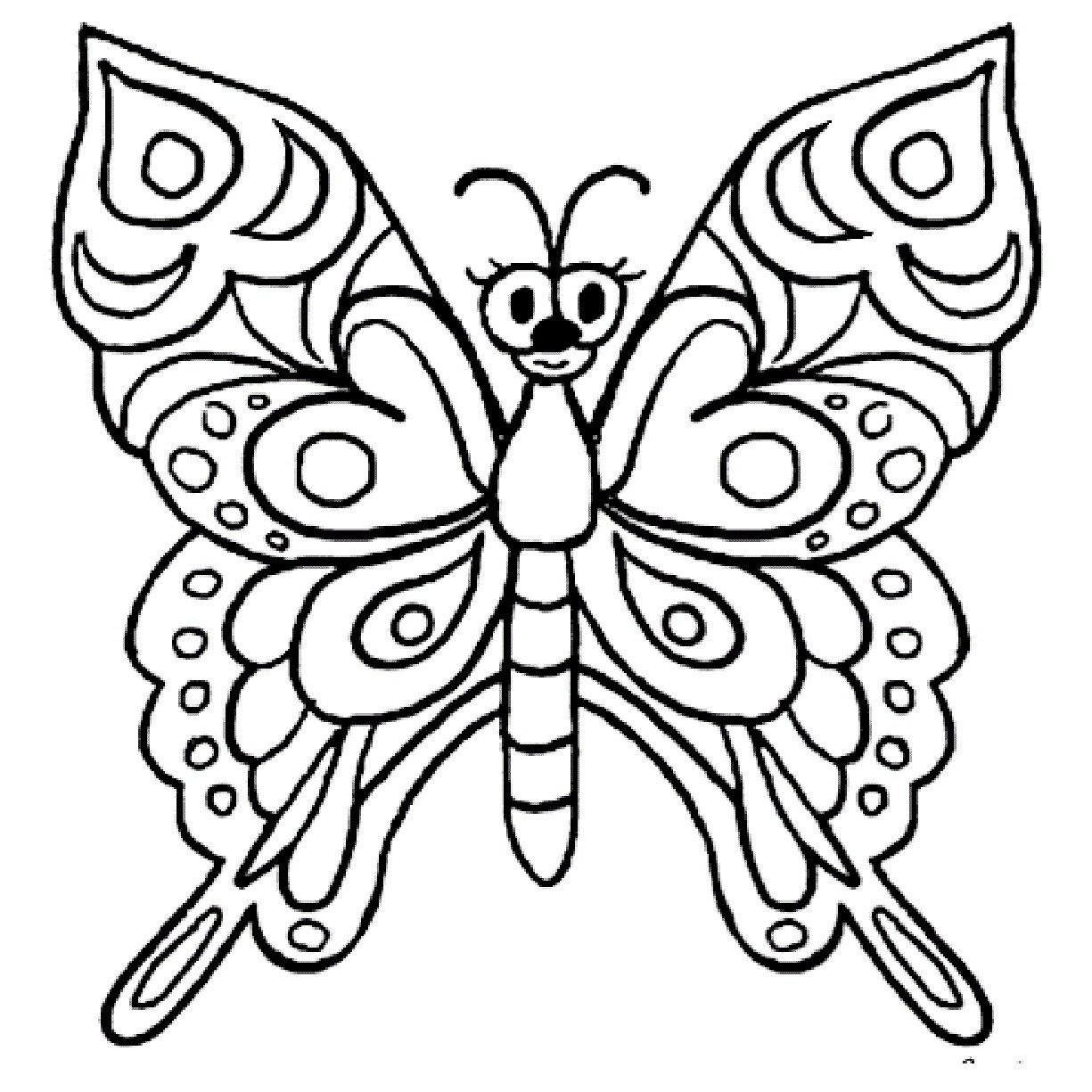25 Amazing Photo Of Butterflies Coloring Pages Davemelillo Com Butterfly Coloring Page Butterfly Pictures To Color Butterfly Drawing [ 1225 x 1225 Pixel ]