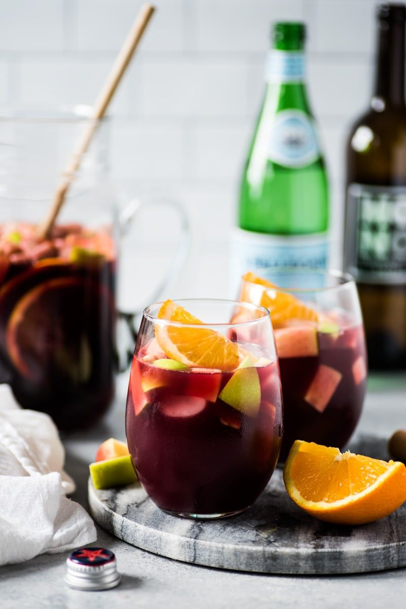 Easy Sangria Recipe - Isabel Eats {Easy Mexican Recipes}