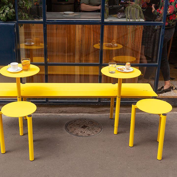 Banc Ajustable Pour Terrasse De Bar Fabricant Mobilier Urbain Mobilier De Bar Mobilier Restaurant Mobilier Professionnel