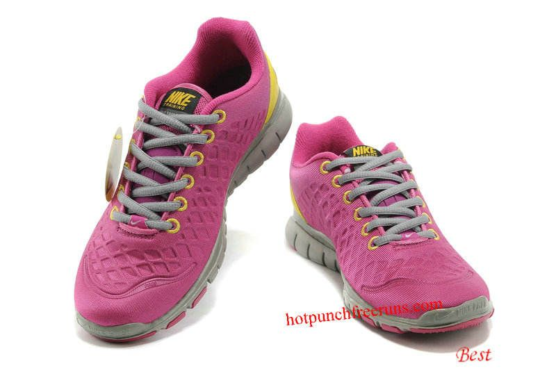 pretty nice 27231 9214e Nike Free TR Fit 2 Shield Womens Rave Pink Yellow Cool Grey 469767 500  Hot  Punch Free Runs 1116  -  54.69   Nike free run 2, Buy cheap Nike free run  in ...