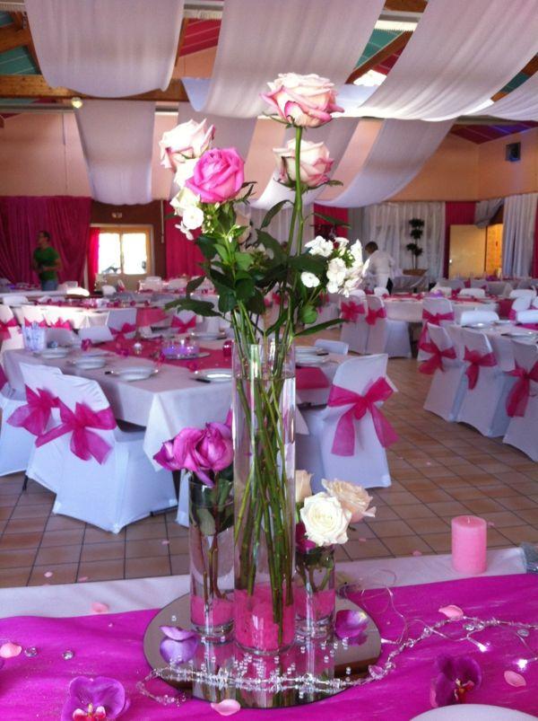 decoration mariage table et chaise