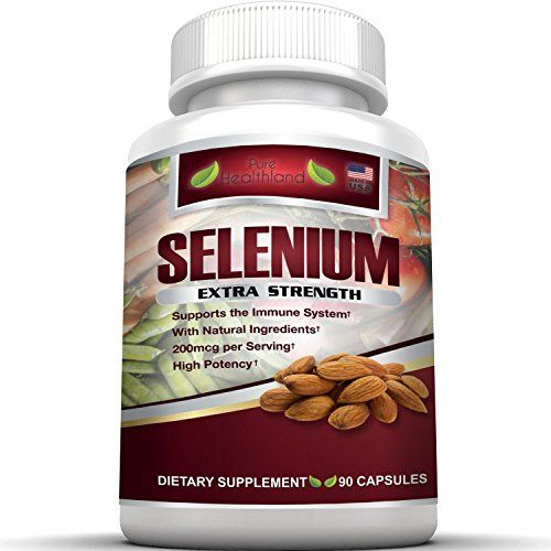 Selenium Supplement 200mcg By Pure Healthland High Potency Organic Yeast Free Selenium