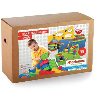 ECR4Kids Jumbo Building Bricks Giant Blocks for Indoor