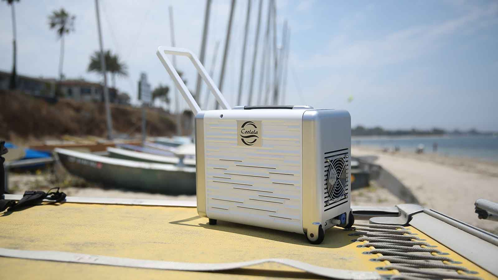 Check Out The World First Portable Solar Powered A C Unit Solar Powered Air Conditioner Solar Power Best Solar Panels